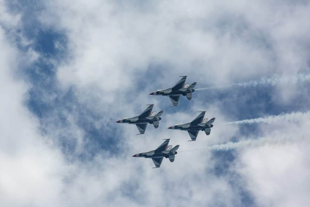 thunderbirds, f16, f-16